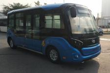 海格牌KLQ6606GAEVJL型纯电动低入口城市客车图片