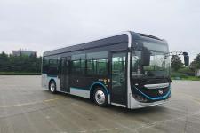 海格牌KLQ6856GAEVN3A型纯电动低入口城市客车图片