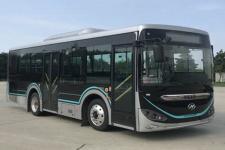 海格牌KLQ6856GAHEVC6K型插电式混合动力城市客车图片