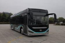 海格牌KLQ6106GAEVN5A型纯电动低入口城市客车图片