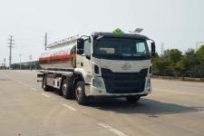 专威牌HTW5252GYYLZQ型铝合金运油车