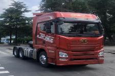 解放牌CA4258P26K2T1E5A80型平头柴油牵引车图片