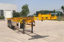 甬意州12.2米34.1吨3轴集装箱运输半挂车(NYZ9400TJZ)