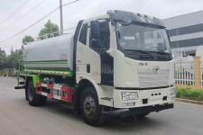 國六解放J6-12噸綠化噴灑車價格