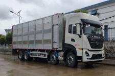 国六东风天龙全铝合金畜禽运输车猪苗运输车