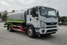 國六陜汽軒德10.32立方綠化噴灑車