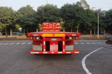 运力牌LG9400TPB型平板运输半挂车图片