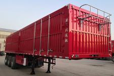 金鑫运驰牌BYC9401XXY型厢式运输半挂车图片