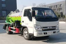 程力威牌CLW5040GXWB6型吸污车