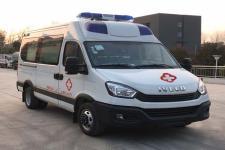 国六依维柯监护型救护车