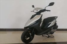 豪进牌HJ110T-B型两轮摩托车图片