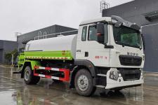 国六重汽豪沃15吨绿化喷洒车/15方洒水车