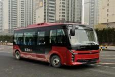 中通牌LCK6606EVA1型纯电动客车图片