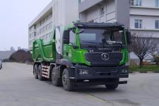 陕汽牌SX3317MF326BEV型换电式纯电动自卸汽车图片
