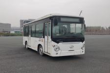 海格牌KLQ6650GEVN5W型纯电动城市客车图片