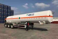 中集牌NTV9403GDYE型低温液体运输半挂车图片