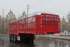 威正百业牌WZB9405CCYE型仓栅式运输半挂车