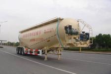 中集12.4米27.7噸3軸低密度粉粒物料運輸半掛車(ZJV9407GFLTH)