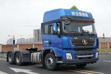 陕汽后双桥,后八轮危险品牵引车340马力(SX4250XC4W)