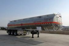 楚胜12.8米33吨3铝合金运油半挂车