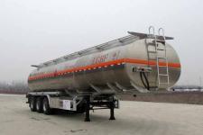楚胜12.5米32.8吨铝合金运油半挂车