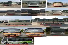 华新牌HM6605LFD5X型客车图片2