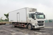 豪沃牌ZZ5187XLCK561GE1型冷藏车(ZZ5187XLCK561GE1冷藏车)