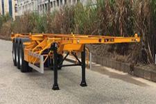 中集12.2米34吨3轴集装箱运输半挂车(ZJV9400TJZSZA)