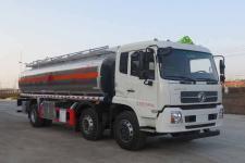 东风天锦15吨18吨铝合金油罐车运油车价格 前四后四油罐车价格