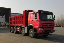 豪沃前四后八自卸車國六350馬力(ZZ3317V2767F1)