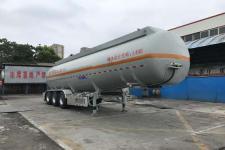 通华11.4米32.2吨3轴易燃液体罐式运输半挂车(THT9405GRYF)