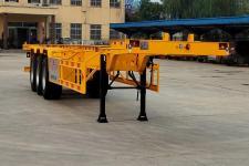 广科14米34.8吨3轴集装箱运输半挂车(YGK9402TJZG)