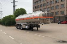 专威11.5米33.2吨3轴铝合金运油半挂车(HTW9400GYYLC)