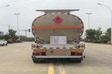 专威牌HTW9400GYYLC型铝合金运油半挂车图片