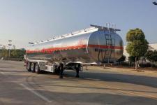 专威12米33吨3轴铝合金运油半挂车(HTW9401GYYLC)