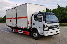 國六東風凱普特5.2米易燃氣體廂式運輸車