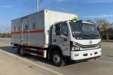 国六东风多利卡5.15米易燃固体厢式运输车