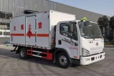 國六解放J6F易燃液體廂式運輸車
