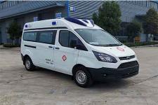 国六福特新全顺v362监护型救护车
