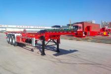 斯纳德汽车牌SND9409TJZ型集装箱运输半挂车