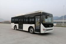 远程牌DNC6850BEVG4D型纯电动低入口城市客车