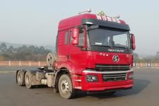 陕汽牌SX4250MPN384W型危险品牵引汽车