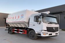 国六东风专用底盘10吨20方散装饲料运输车