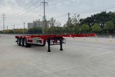 楚飛13米34.9噸3軸危險品罐箱骨架運輸半掛車(CLQ9401TWY)