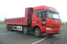 解放前四后八平頭柴油自卸車國五394馬力(CA3310P66K24L6T4AE5)