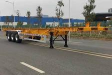 中集14米35.3吨3轴集装箱运输半挂车(ZJV9400TJZSZB05)