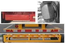 中集牌ZJV9400TJZSZB05型集裝箱運輸半掛車圖片