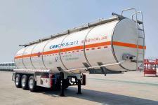 中集11.1米31.7噸3軸易燃液體罐式運輸半掛車(ZJV9407GRYJM)