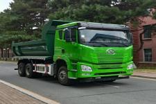 解放牌CA3250P25K15L4T1E5A80型平头柴油自卸汽车图片