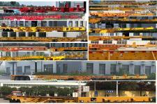 梁山宇翔牌YXM9400TJZ40型集裝箱運輸半掛車圖片